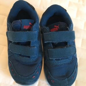 Other - Blue Puma Sneakers sz 8 toddler